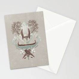 Ghosts of Scandinavia. Iceland. Stationery Cards