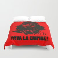 la Duvet Covers featuring Viva la Empire! by 6amcrisis