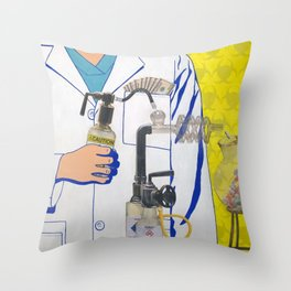 The Science of Capitalism Throw Pillow