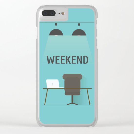 Weekend Clear iPhone Case