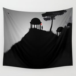 The Silent Shrines Wall Tapestry
