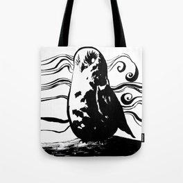 Mist Owl Tote Bag