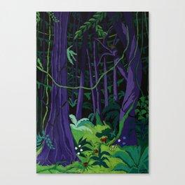 La Foresta Tropicale (Tropical Forest) Canvas Print