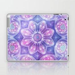 Daydream Mandala in Purple, Blue and Pink Laptop & iPad Skin