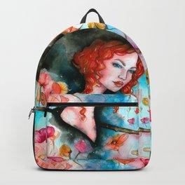 Flower garden Backpack