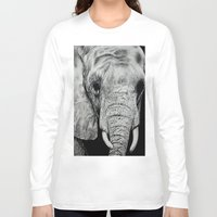 ellie goulding Long Sleeve T-shirts featuring Ellie by Kim Maria Morrow