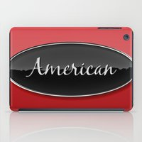 american iPad Cases featuring American by politics