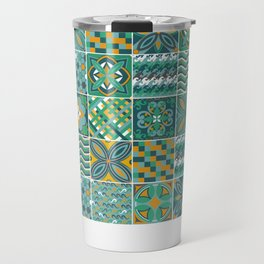 Azulejo Travel Mug