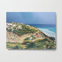 Samos, Greece After A Storm Metal Print