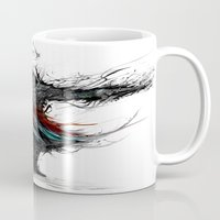 assassins creed Mugs featuring assassins creed by ururuty