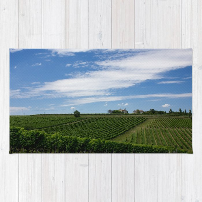 wine and its country Rug