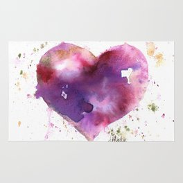 Purple Heart Rug