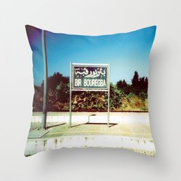 Bir Bouregba Station Throw Pillow