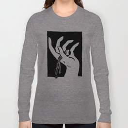 Comedy Black Long Sleeve T-shirt