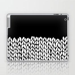 Half Knit  Black Laptop & iPad Skin