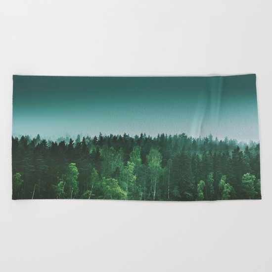 Echoes III Beach Towel