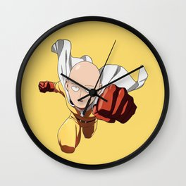 Saitama Punch Wall Clock