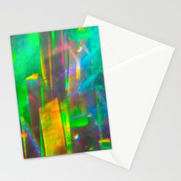 Prisms Play of Light 4 Stationery Cards