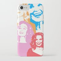 jessica lange iPhone & iPod Cases featuring Jessica Lange - Her smile is everything by BeeJL