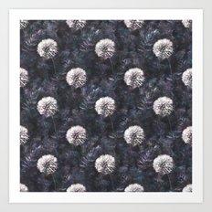 Dandelions - A Pattern Art Print