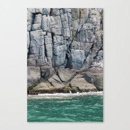 Rock Lines Canvas Print