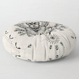 Magical Moth Floor Pillow