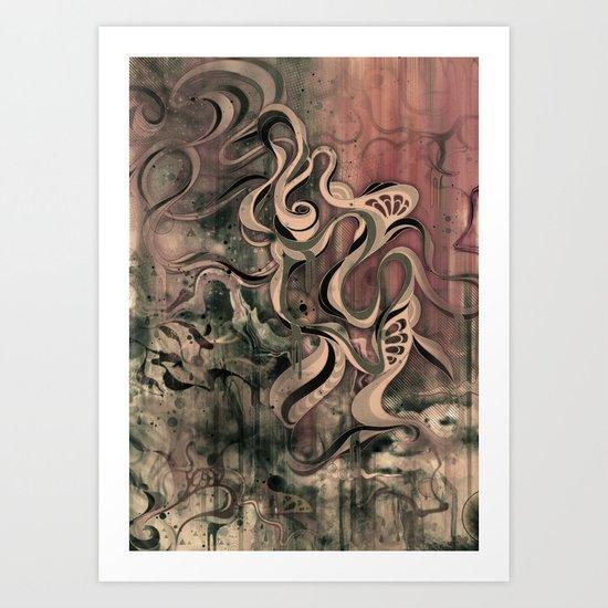 Tempest III (sandstorm) Art Print