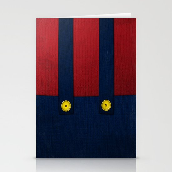 Video Game Poster: Plumber Stationery Cards