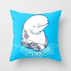 Sea Boy Throw Pillow