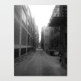 Alley #1 Canvas Print