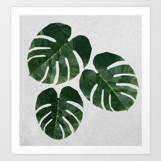 Leaves of Grass Art Print