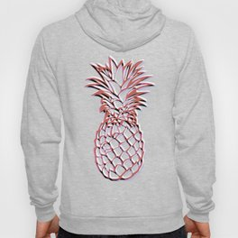 Tropical Pineapple Pattern Hoody