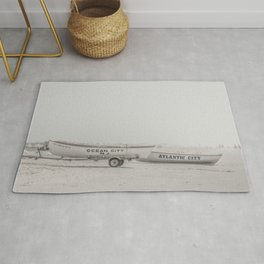 New Jersey Lifeboats Rug