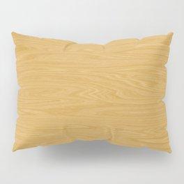 Oak Wood Texture Pillow Sham