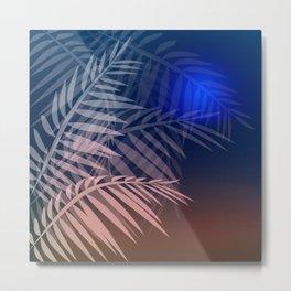 Tropical night Metal Print