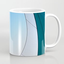 Abstract Sailcloth c3 Coffee Mug