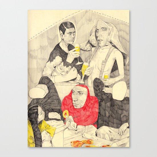 Buffet Canvas Print