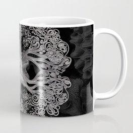 Jellyfish (Black and White) Coffee Mug