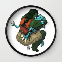 Sweet Flips (The Adventure Zone) Wall Clock