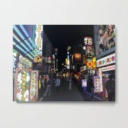Shinjuku - Ellie Wen Metal Print