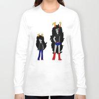 homestuck Long Sleeve T-shirts featuring Vriska by Darkerin Drachen