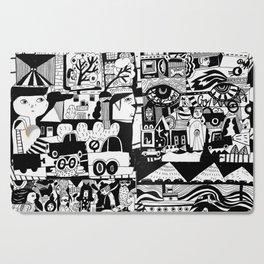 City Life Cutting Board