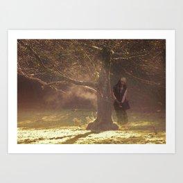 Shades. Lily 1 Art Print
