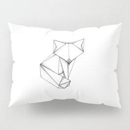 Origami Fox Pillow Sham