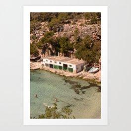 Cala Pi, Mallorca  Art Print