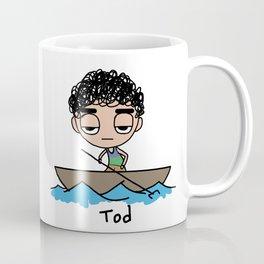 Tod on a Boat Coffee Mug