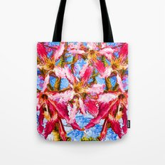 Tropical Flowers Tote Bag