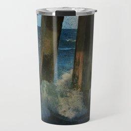 Beneath the Pier Travel Mug