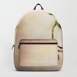 Abandoned Purple Flower Backpack