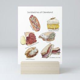 Sandwiches of Cleveland Mini Art Print